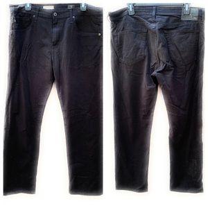 AG Matchbox Slim Straight Jeans Black